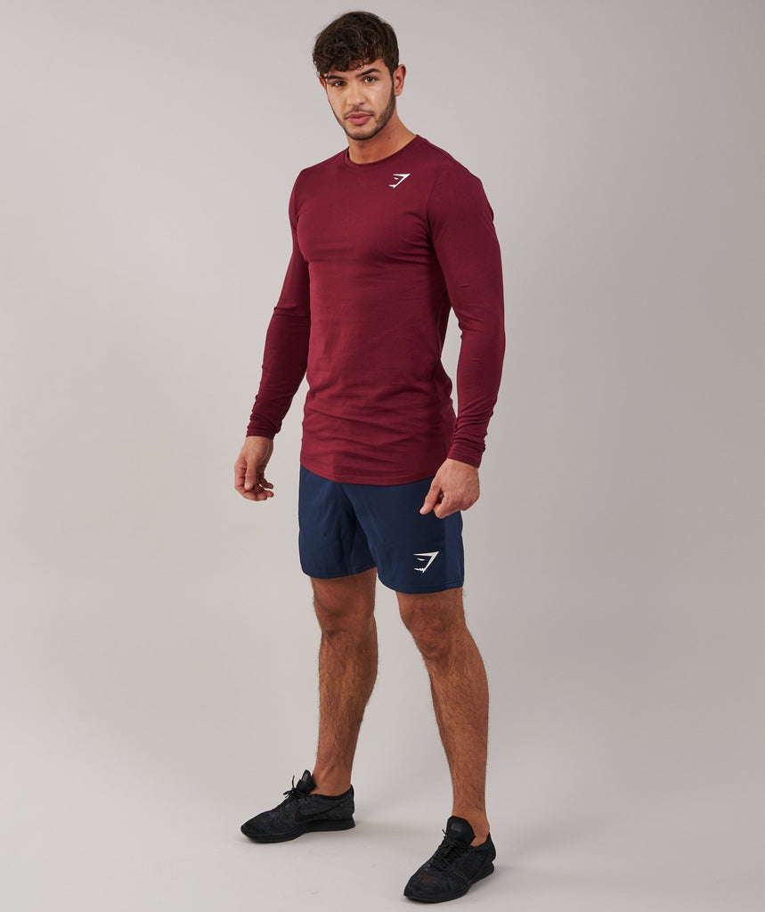 Gymshark Ark Long Sleeve T-Shirt - Port 1