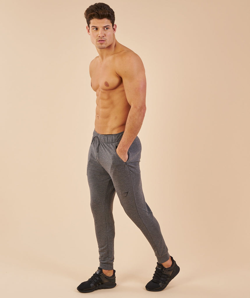Gymshark Enlighten Bottoms - Charcoal Marl 1