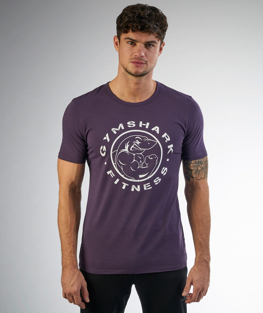 Gymshark Fitness T-Shirt - Nightshade Purple 4