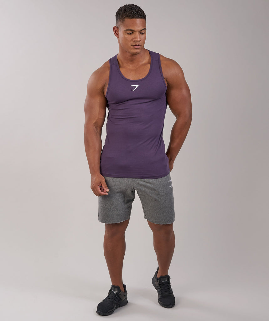 Gymshark Ion Tank - Nightshade Purple 1