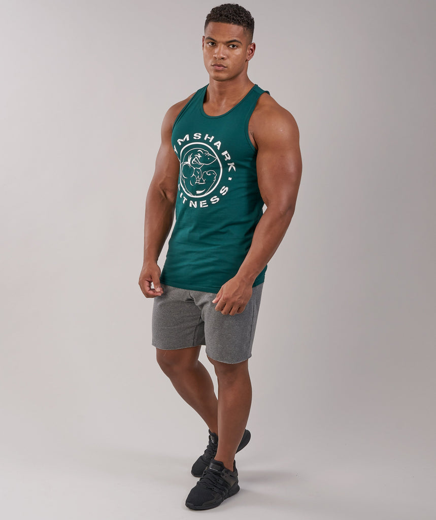 Gymshark Fitness Tank - Forest Green 1