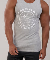 GymShark Fitness Tank - Light Grey Marl 12