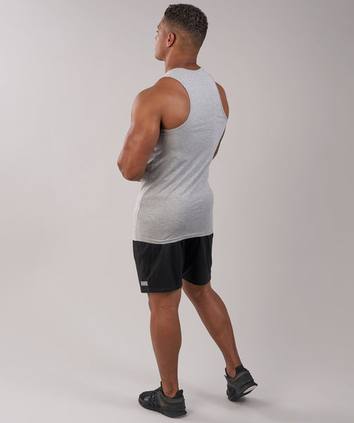 GymShark Fitness Tank - Light Grey Marl 4