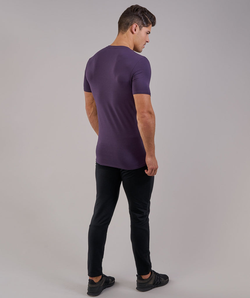 Gymshark Ark T-Shirt - Nightshade Purple 2
