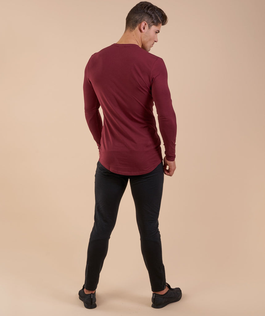 Gymshark Solace Longline Long Sleeve T-shirt - Port 2