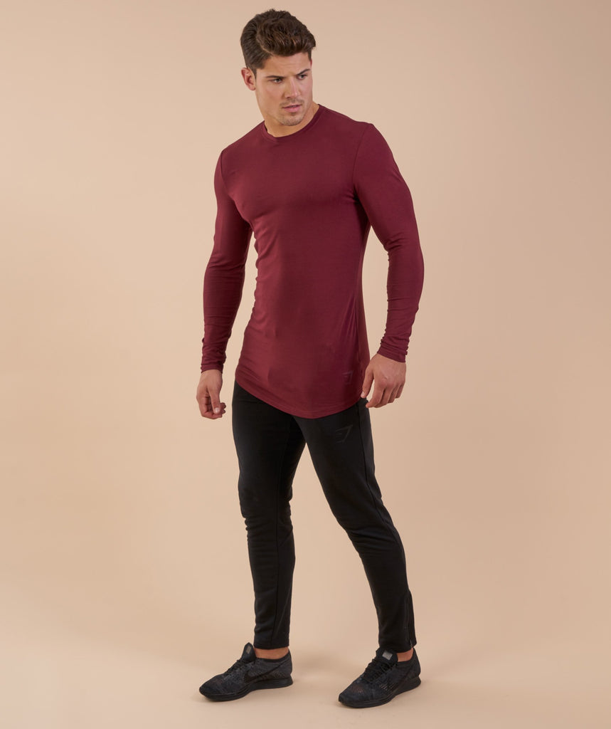 Gymshark Solace Longline Long Sleeve T-shirt - Port 1