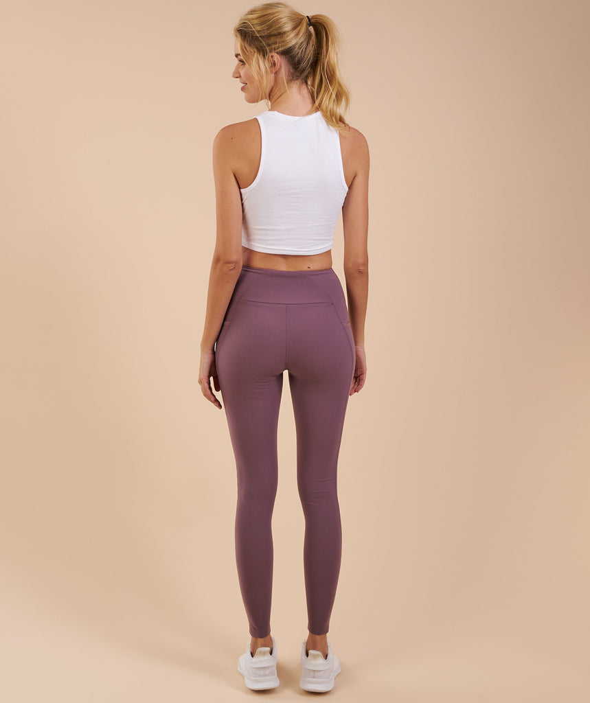 Gymshark Aspire Leggings - Purple Wash 2