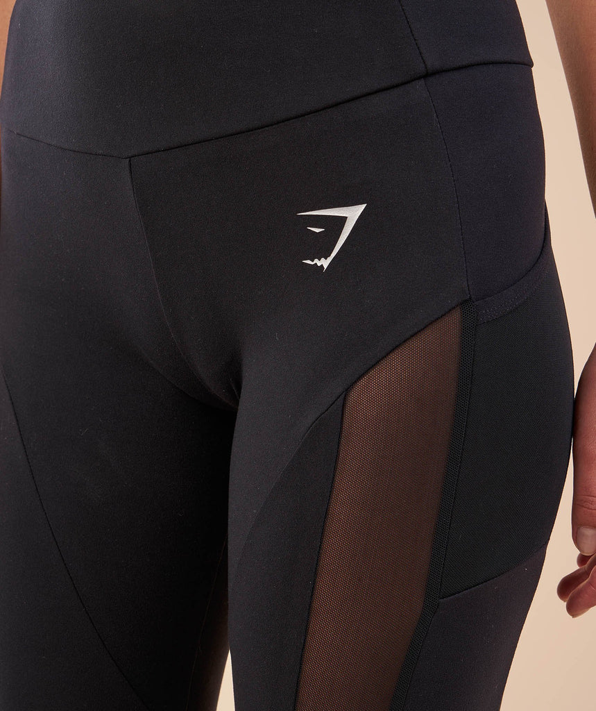 Sleek Aspire Leggings - Black 6