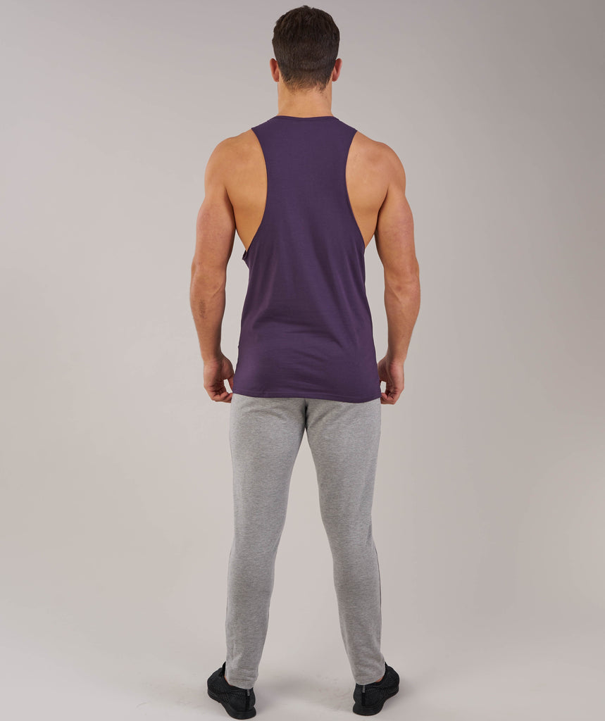 Gymshark Fitness Drop Armhole Tank - Nightshade Purple 2