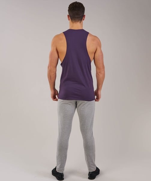 Gymshark Fitness Drop Armhole Tank - Nightshade Purple 1