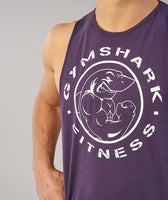 Gymshark Fitness Drop Armhole Tank - Nightshade Purple 11