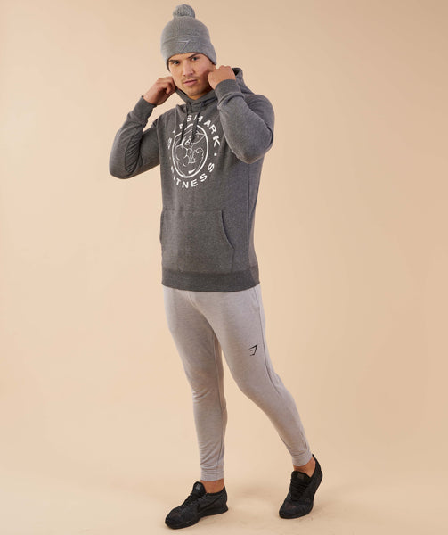 Gymshark Mens Bobble Hat - Light Grey 2
