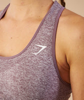 Gymshark Vital Seamless Sports Bra - Purple Wash Marl 12