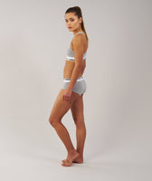 Gymshark Womens Jersey Briefs 2pk - Light Grey Marl 10