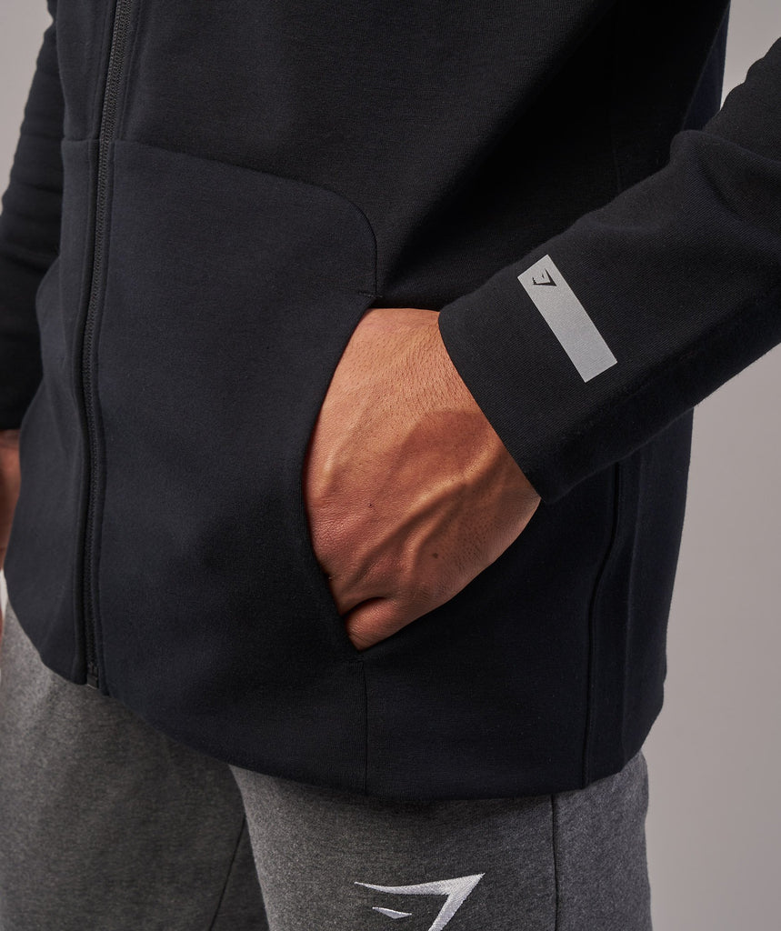 Gymshark Fully Fused Zip Hoodie - Black 5