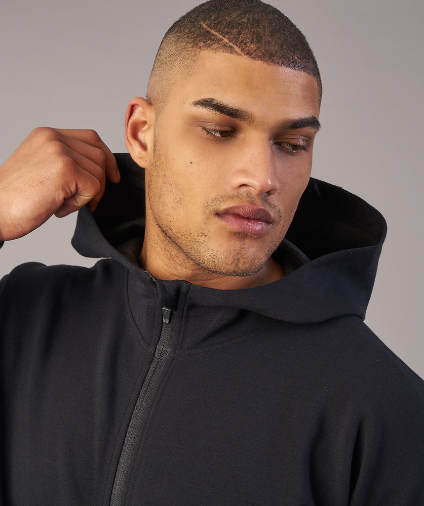 Gymshark Fully Fused Zip Hoodie - Black 6
