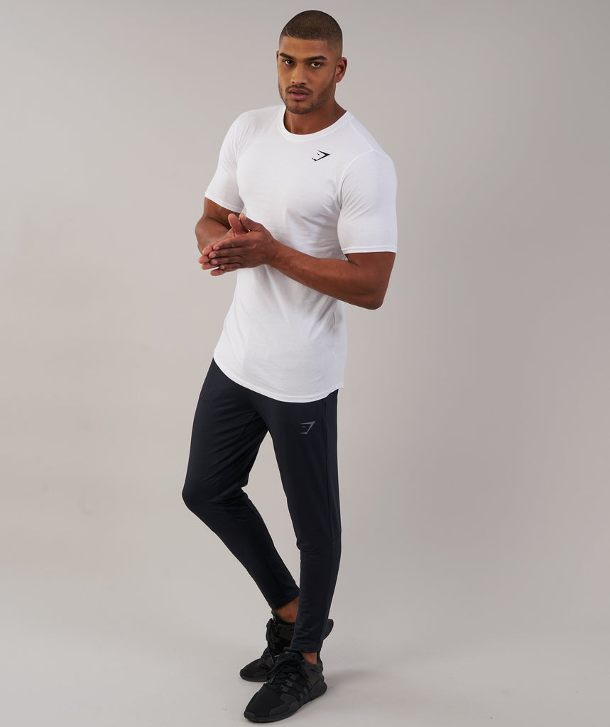Gymshark Reactive Training Bottoms - Black/Black 1