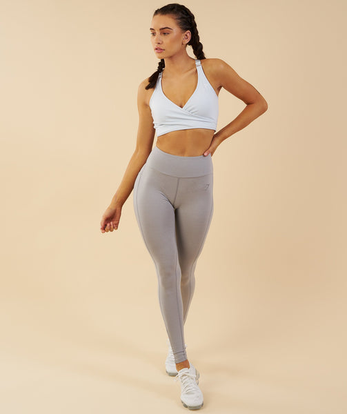 Gymshark Elite Sports Bra - Ice Blue 3