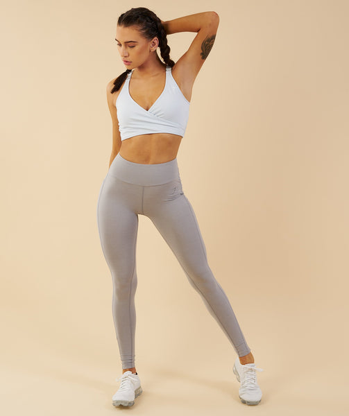 Gymshark Elite Sports Bra - Ice Blue 4