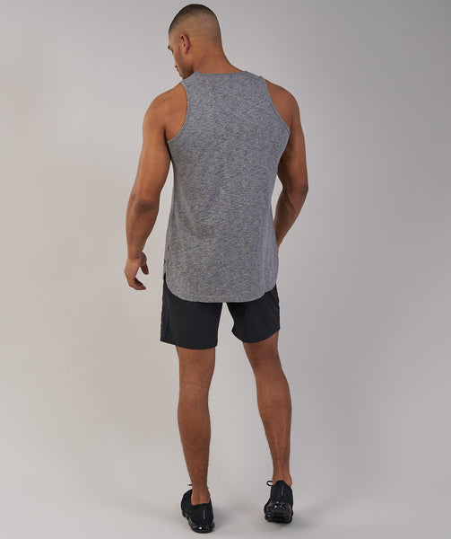 Gymshark Heather Tank - Charcoal Marl 2