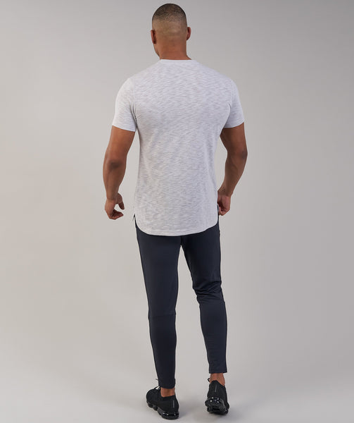 Gymshark Heather T-Shirt - Light Grey Marl 2