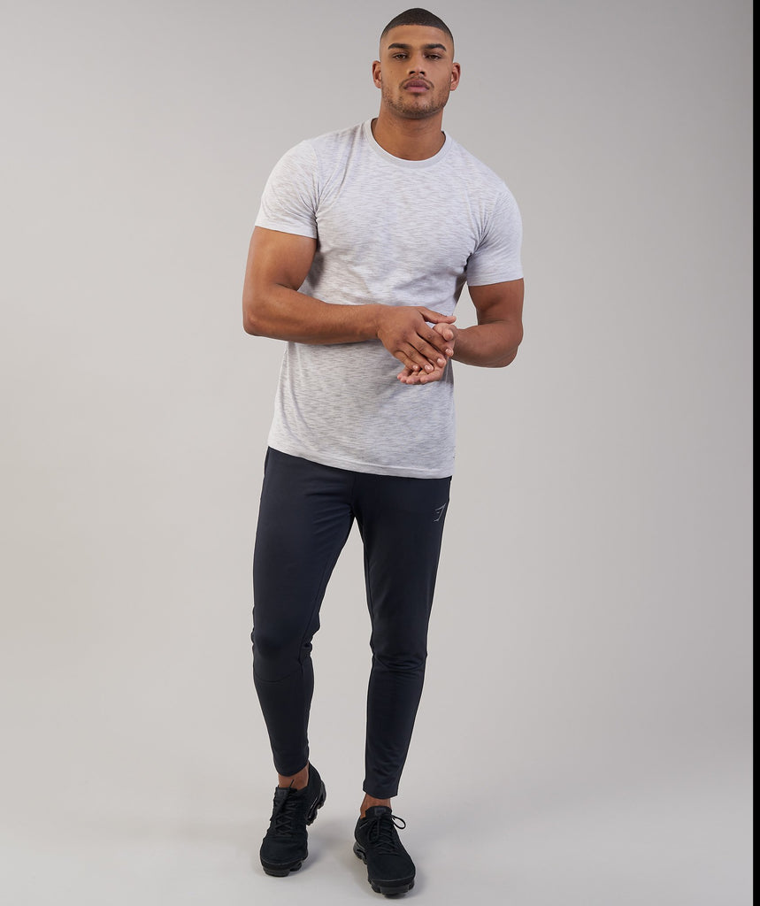 Gymshark Heather T-Shirt - Light Grey Marl 6