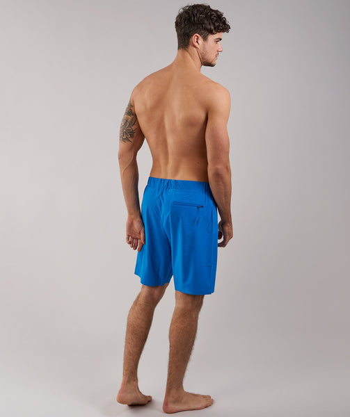 Gymshark Board Shorts - Dive Blue 1