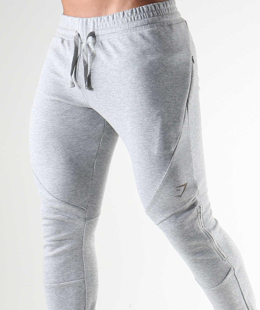 Gymshark Apex Bottoms - Light Grey Marl 6