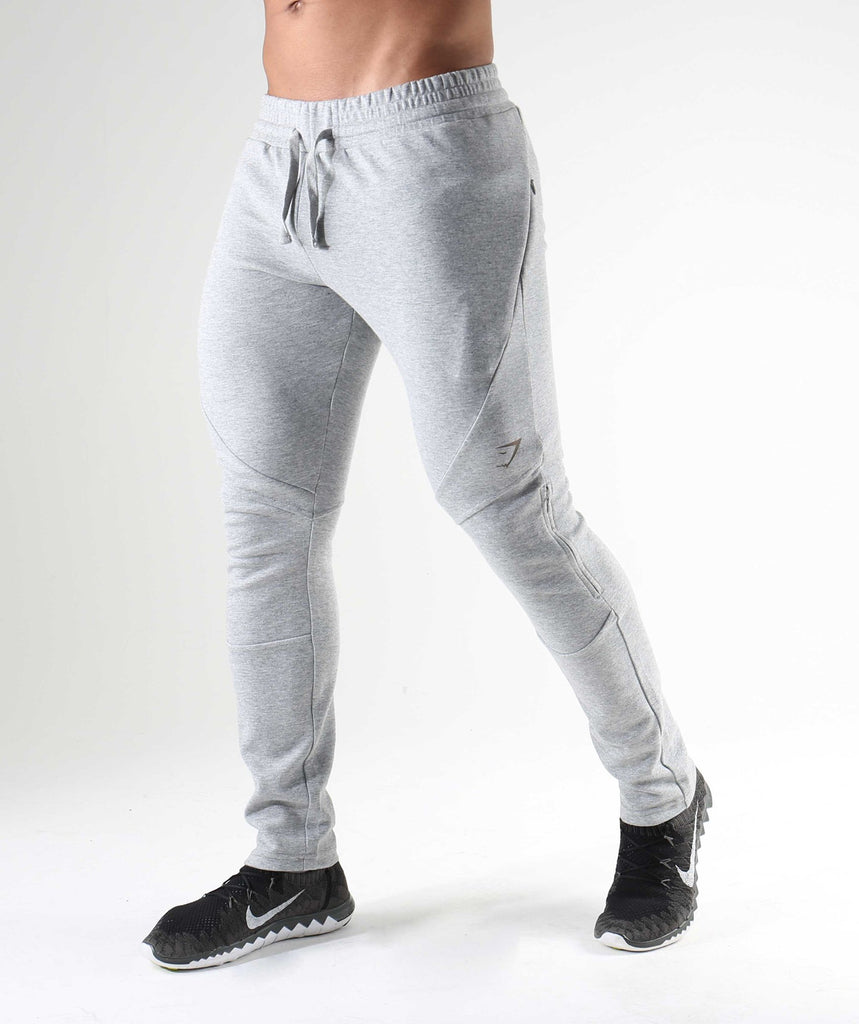 Gymshark Apex Bottoms - Light Grey Marl 1