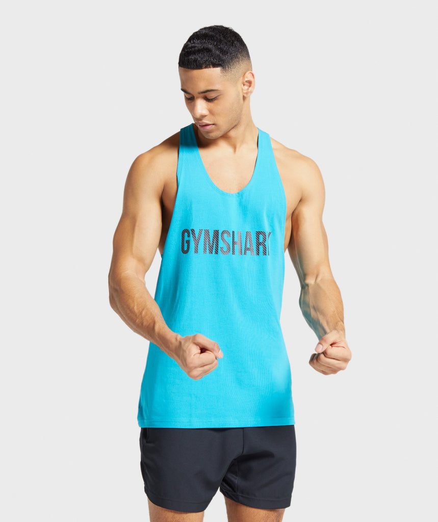 Gymshark Apex Stringer - Teal 1