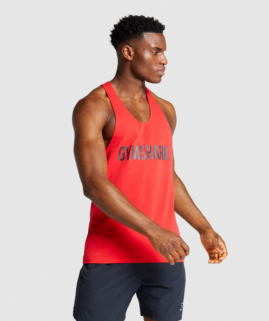 Gymshark Apex Stringer - Red 1