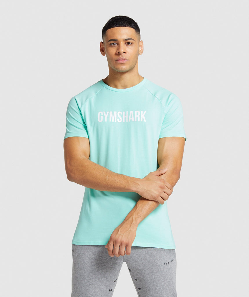 Gymshark Apollo T-Shirt - Light Green 1