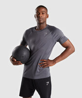 Gymshark Ability T-Shirt - Charcoal 7