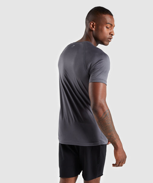 Gymshark Ability T-Shirt - Charcoal 1