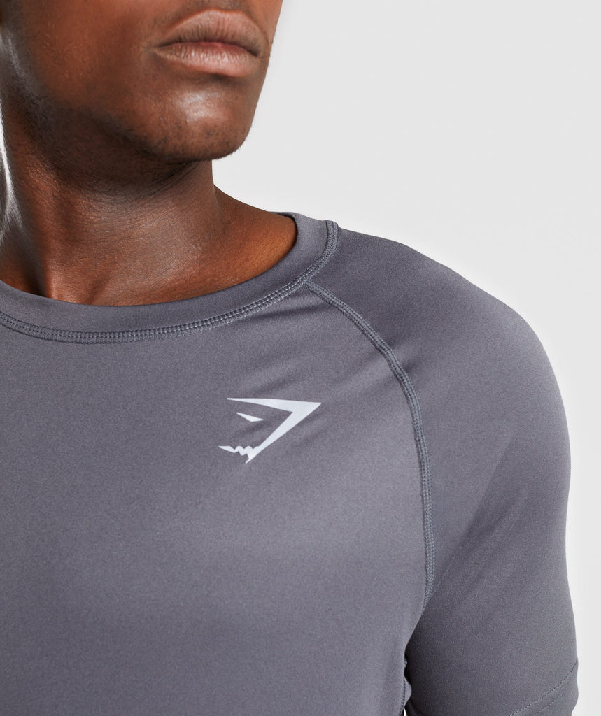 Gymshark Ability T-Shirt - Charcoal 6