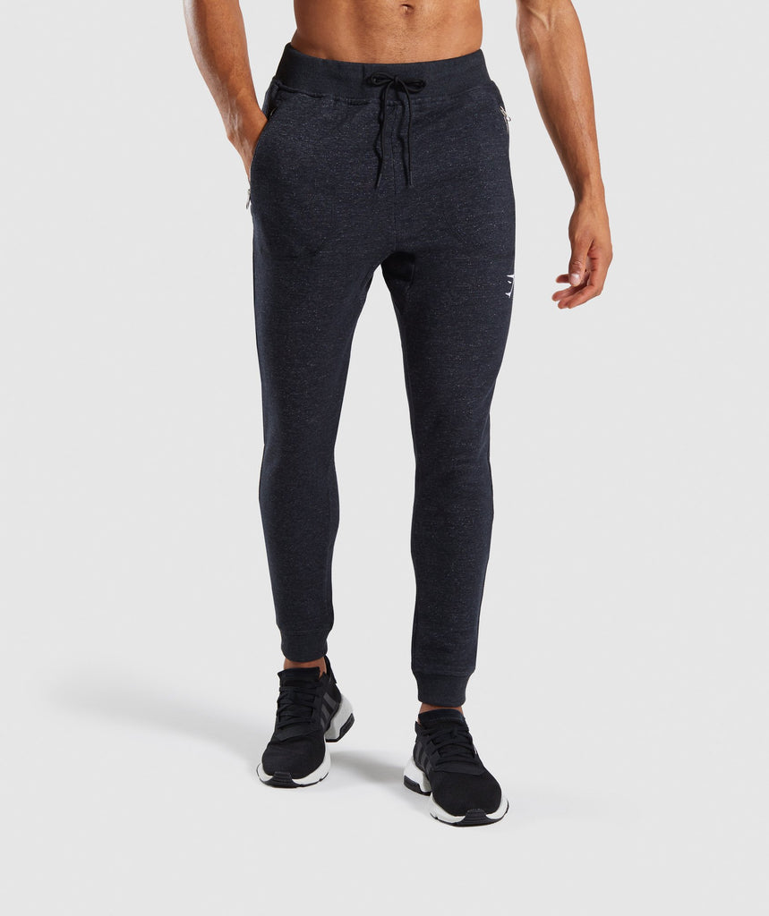 Gymshark Adapt Bottoms - Black Marl 1