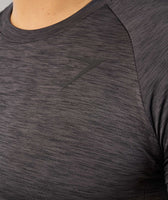 Gymshark Apex T-Shirt - Black Marl 11
