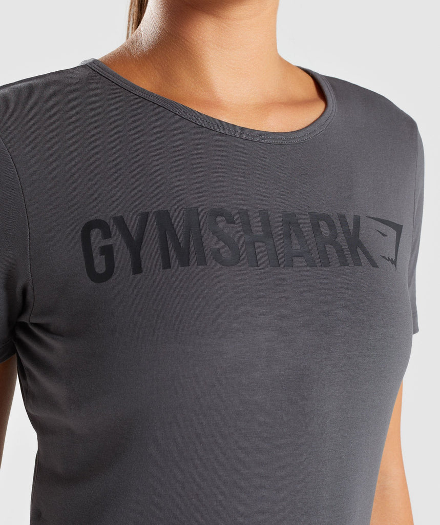 Gymshark Apollo T-Shirt - Charcoal 6