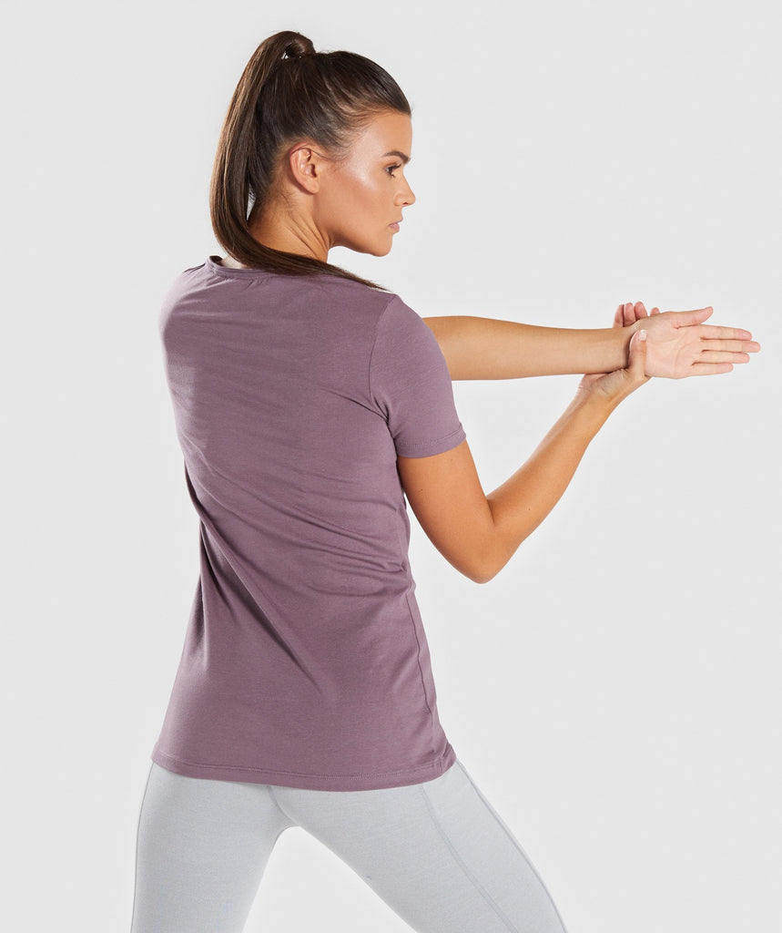 Gymshark Apollo T-Shirt - Purple Wash 2