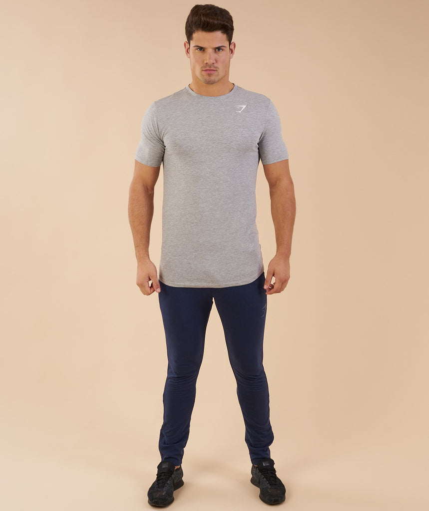 Gymshark Ark T-Shirt - Light Grey Marl 1