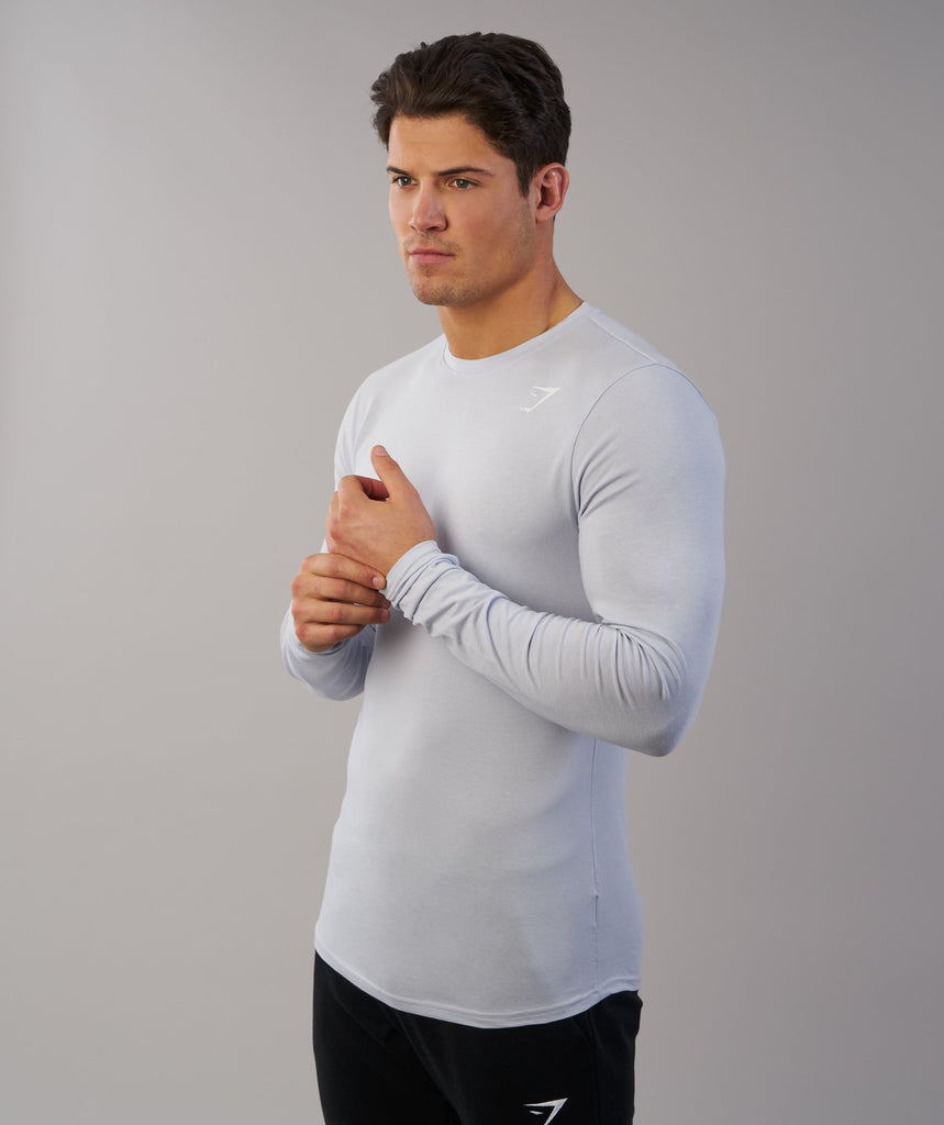 Gymshark Ark Long Sleeve T-Shirt - Clear Water 6