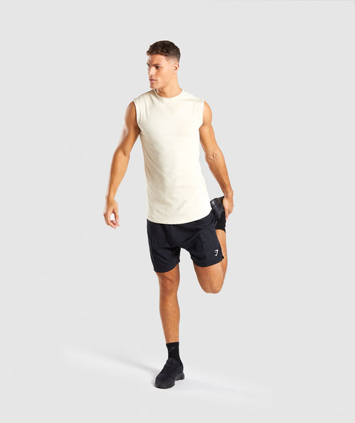 Gymshark Ark Sleeveless T-Shirt - Warm Beige 3