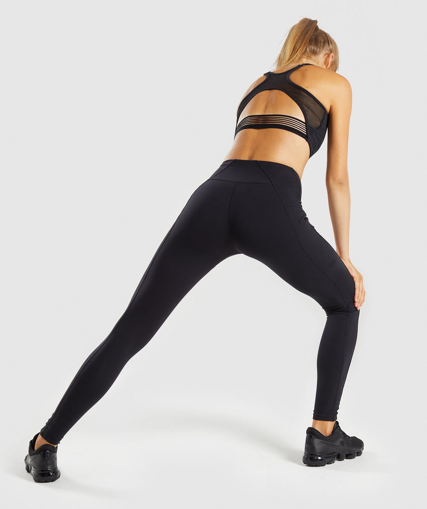 Gymshark Aspire Leggings - Black 2