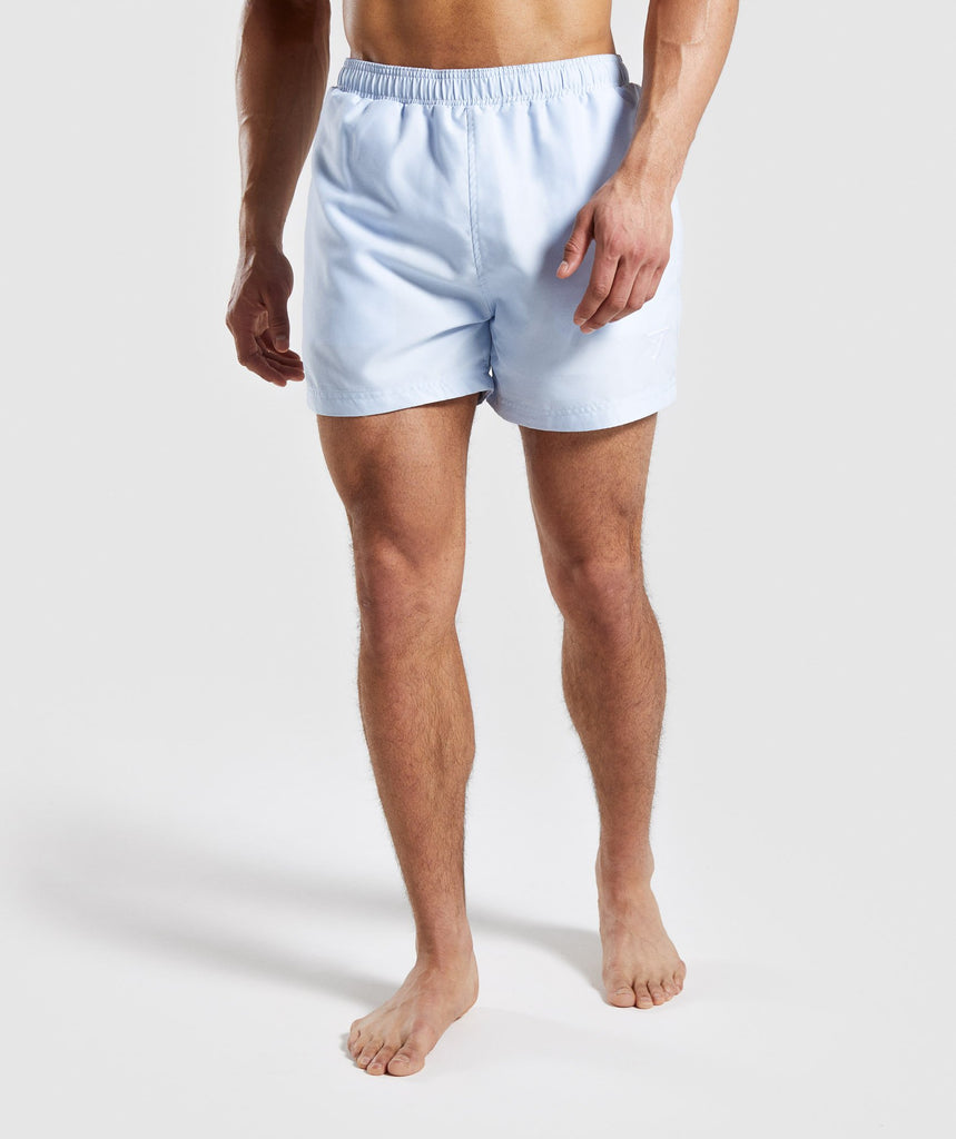 Gymshark Atlantic Swim Shorts - Light Blue 1