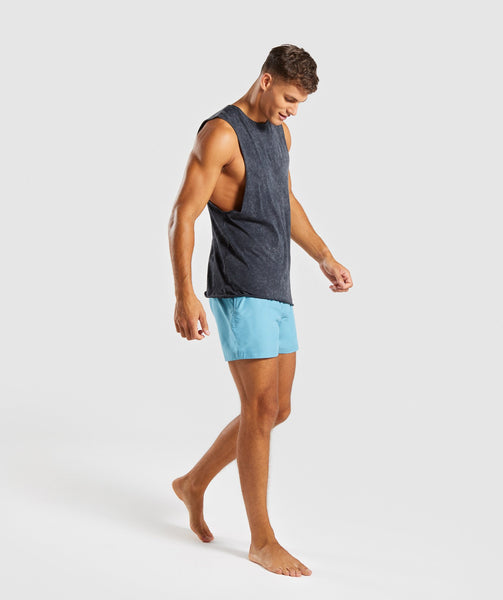 Gymshark Atlantic Swimshorts - Dusky Teal 4