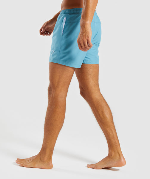 Gymshark Atlantic Swimshorts - Dusky Teal 2