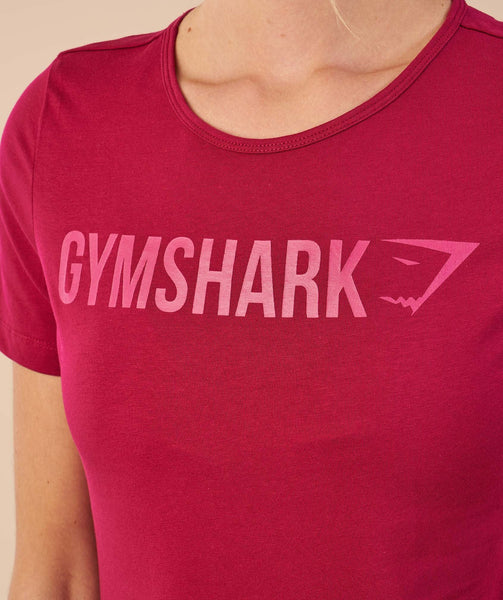 Gymshark Apollo T-Shirt - Beet 4