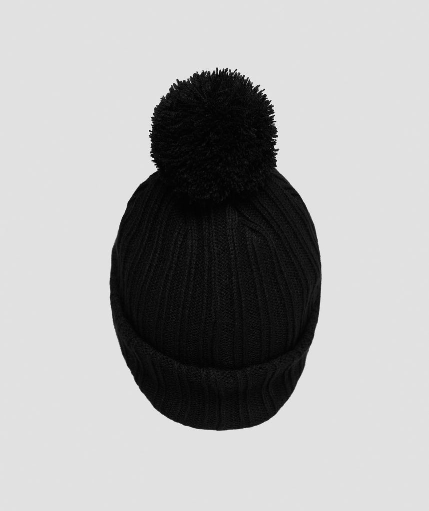Gymshark Bobble Hat - Black 2