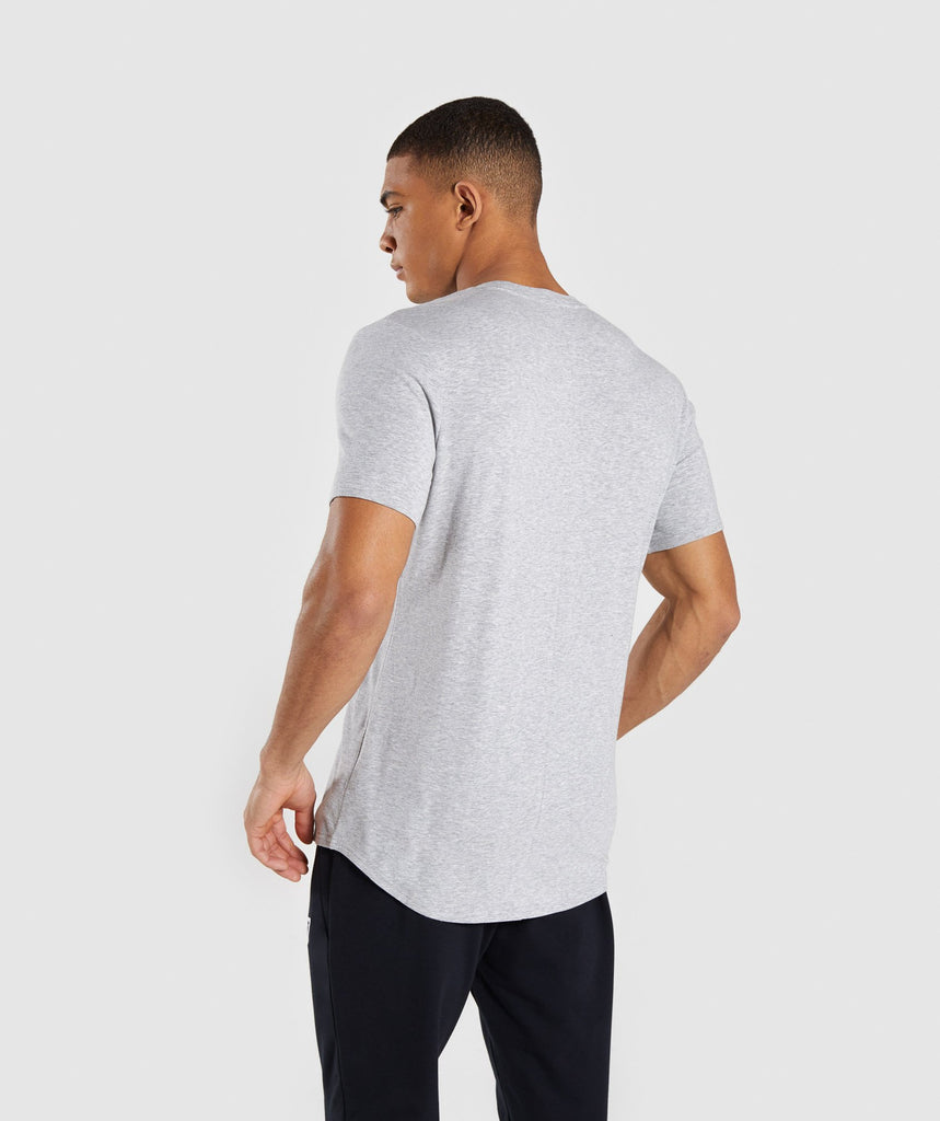 Gymshark Bold Graphic T-Shirt - Grey 2