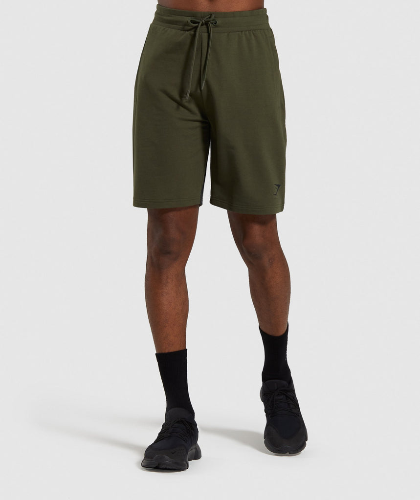Gymshark Bold Shorts - Dark Green 1
